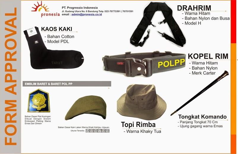 perlengkapan satpol PP