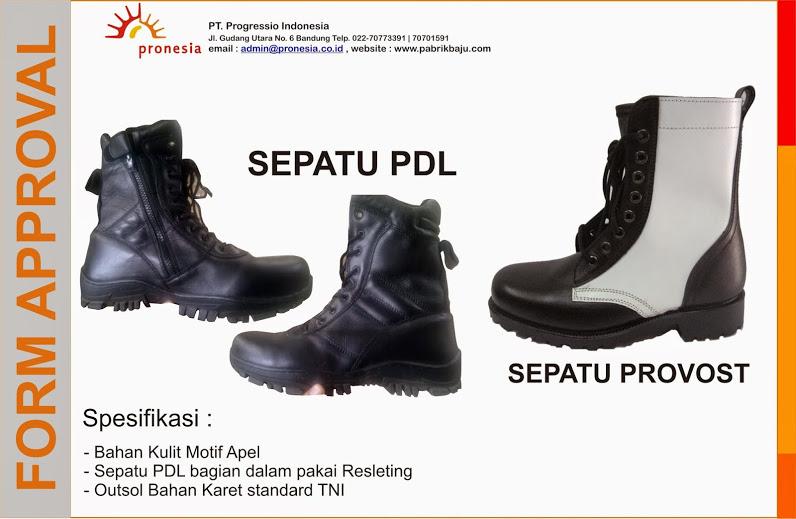 Sepatu PDL satpol PP