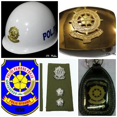 perlengkapan seragam satpol pp